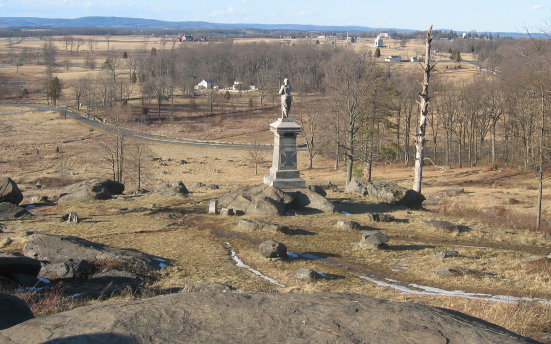 Little Round Top at Gettysburg: First the Battle, Then a View of History